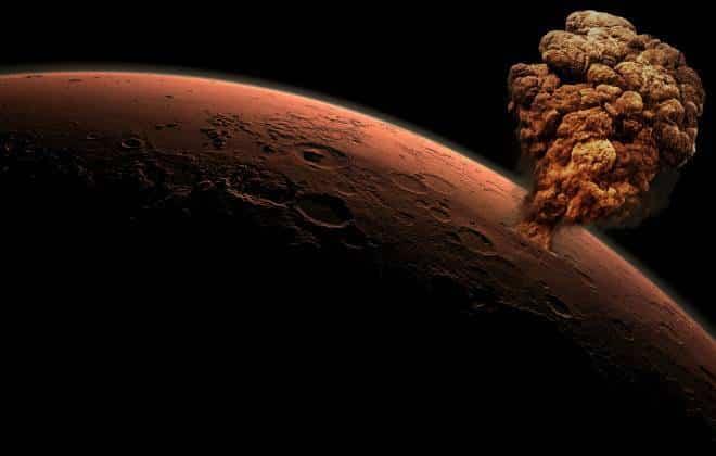Bombas nucleares: o jeito mais fácil de tornar Marte habitável