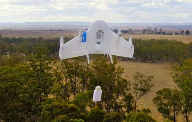 Google registra dois novos modelos de drone nos Estados Unidos