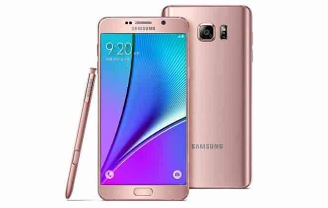 Samsung lança versão do Galaxy Note 5 com a mesma cor dos novos iPhones
