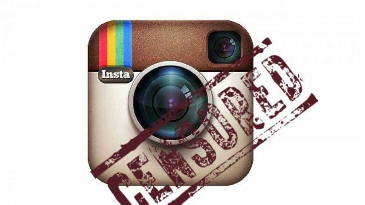 Instagram Censura