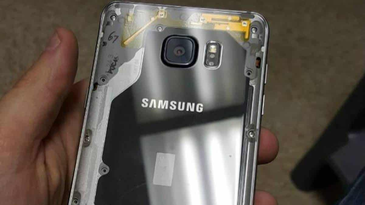 Galaxy Note5 transparente