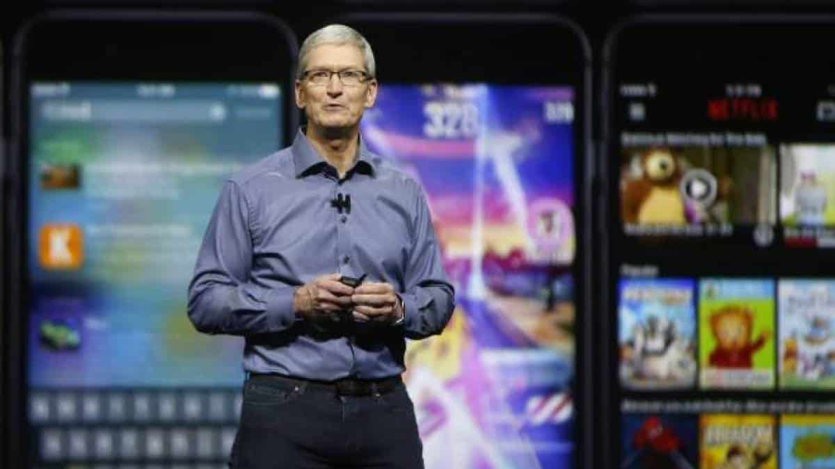 tim cook iphone 6s