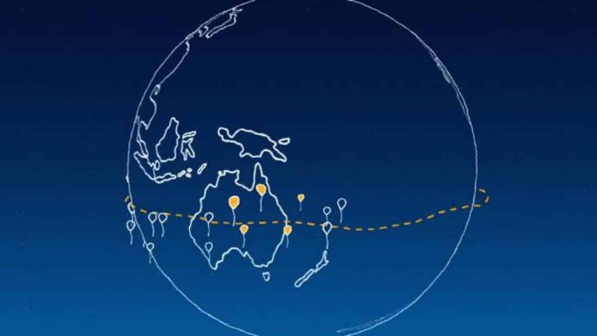 Project Loon - anel de internet