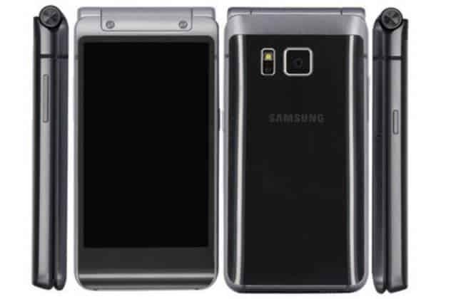 Vazam imagens de smartphone dobrável da Samsung