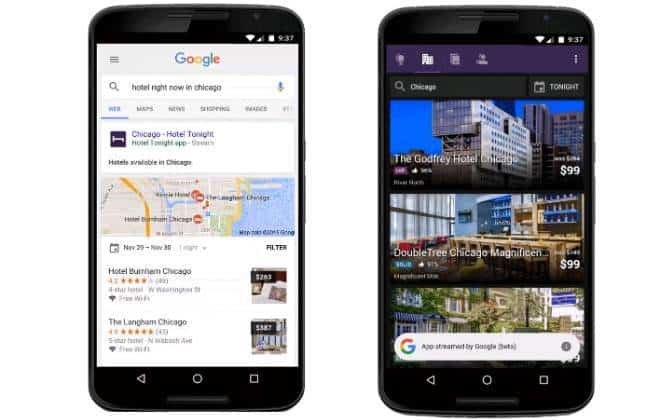 Buscador do Google para Android pode fazer streaming de aplicativos
