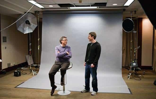 Bill Gates e Mark Zuckerberg se unem por energia limpa