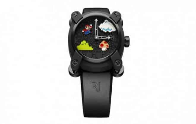 Grife lança relógio do Super Mario custando mais de R$ 70 mil