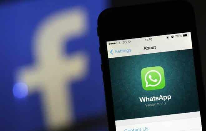 WhatsApp vai come�ar a compartilhar dados dos usu�rios com o Facebook