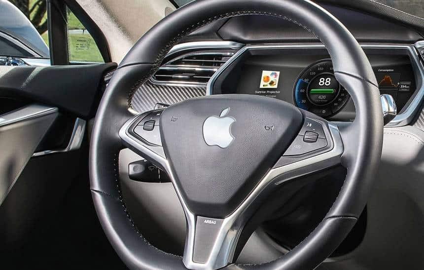 Apple estaria pesquisando maneiras de carregar carros el�tricos