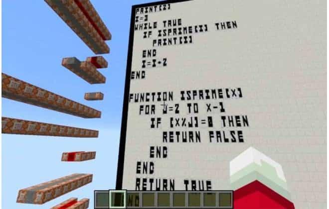 Jogador de 'Minecraft' consegue programar em Basic dentro do game