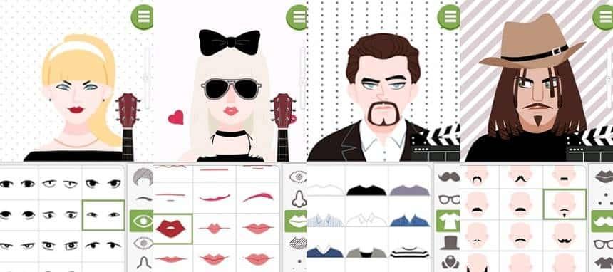 conheça o doodle face o app do momento para android