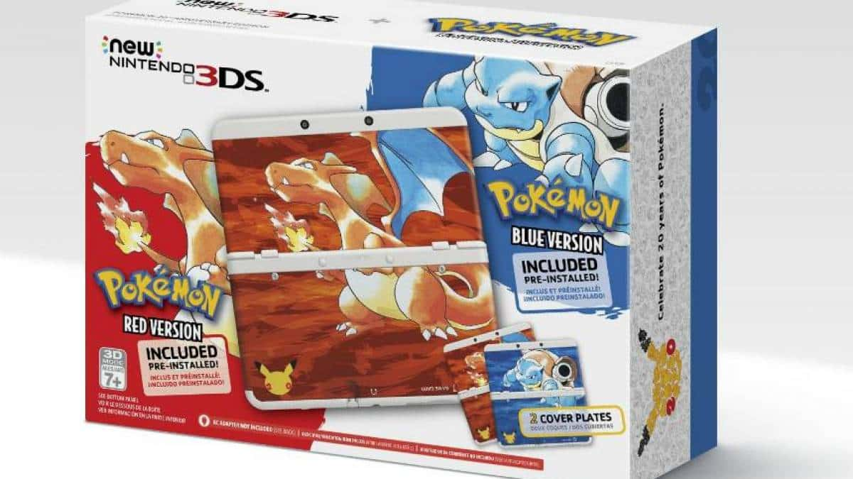 pokémon red 3ds