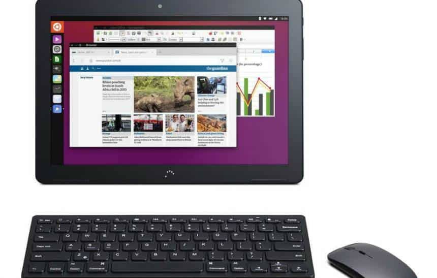 Desenvolvedora do Ubuntu anuncia tablet que