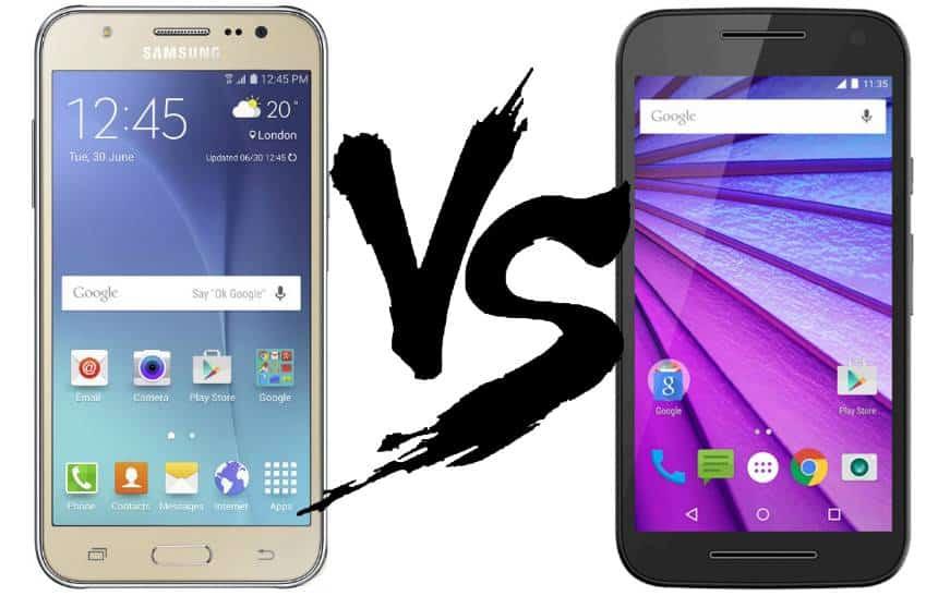 Moto G 2015 ou Galaxy J5: qual � a melhor escolha? Veja no comparativo
