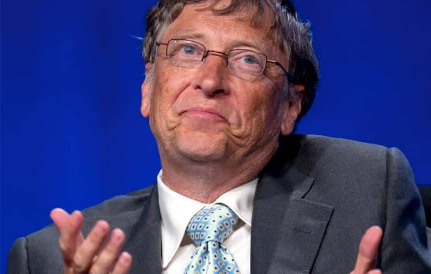 Bill Gates conta o que faria se tivesse que viver com US$ 2 por dia