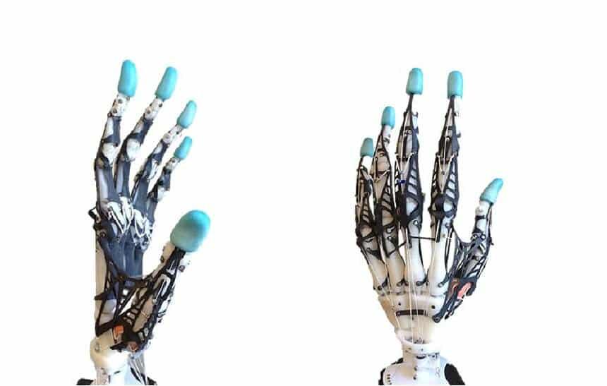 Mão robótica tem precisão de humana; próximo passo é fazer crescer tendões