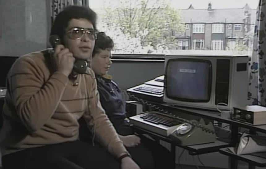 Veja como eram as conexões de 'internet' em 1984