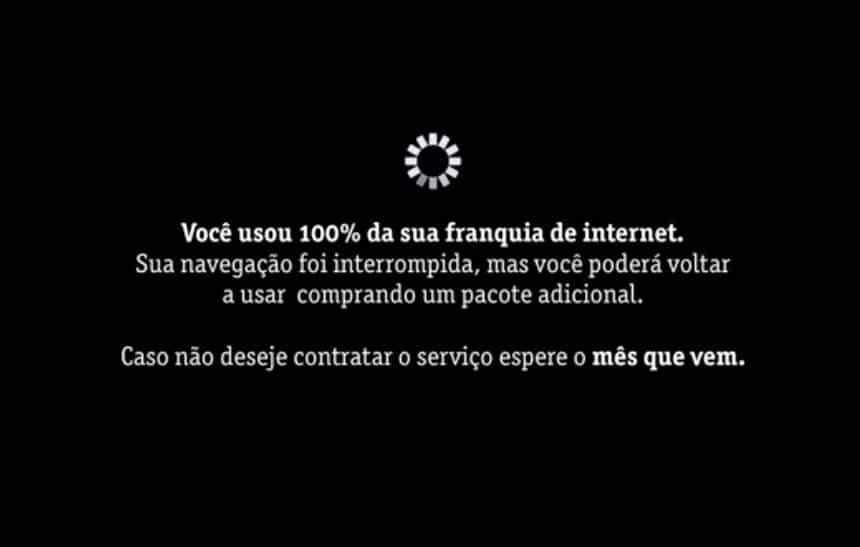 Em paródia, limite de internet da Vivo interrompe comercial da própria empresa