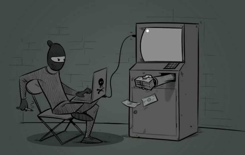 Velhos e mal cuidados, caixas eletr�nicos facilitam a vida dos ladr�es