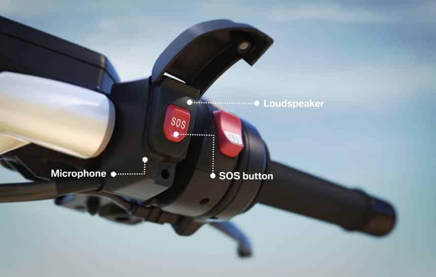 Motos da BMW ter�o sistema de emerg�ncia inteligente