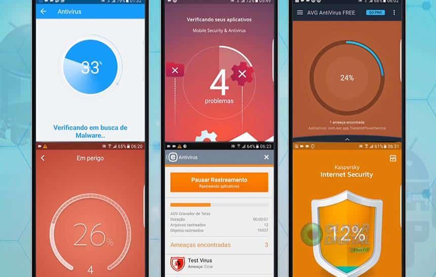 Testamos e escolhemos o melhor antiv�rus para proteger o seu Android