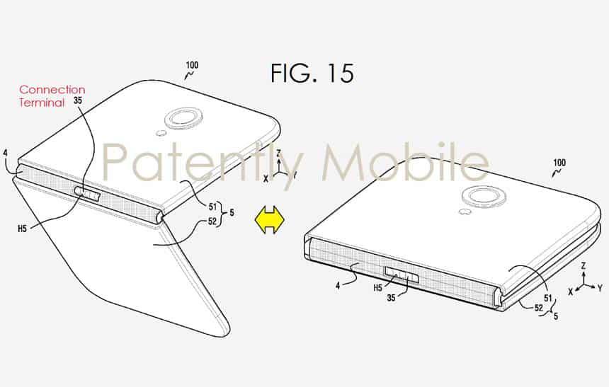 Kết quả hình ảnh cho samsung galaxy x patent