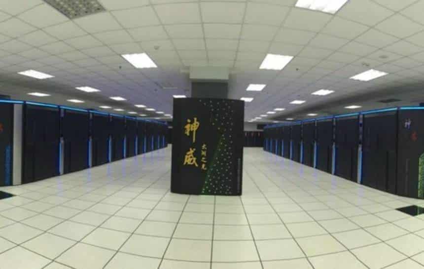 Novo supercomputador chinês é o mais rápido do mundo