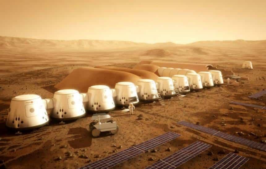 Elon Musk quer construir redomas de vidro para humanos morarem em Marte