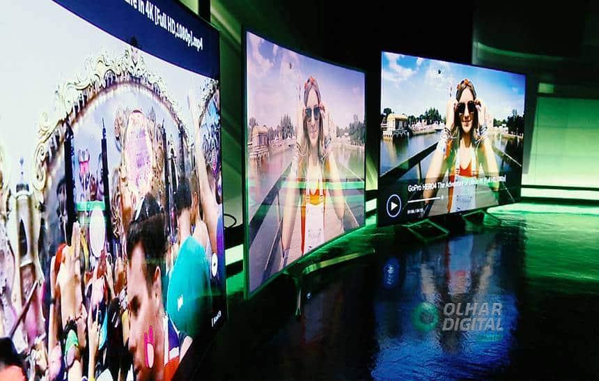 Comparamos 3 TVs top de linha; juntas, elas valem mais que um carro