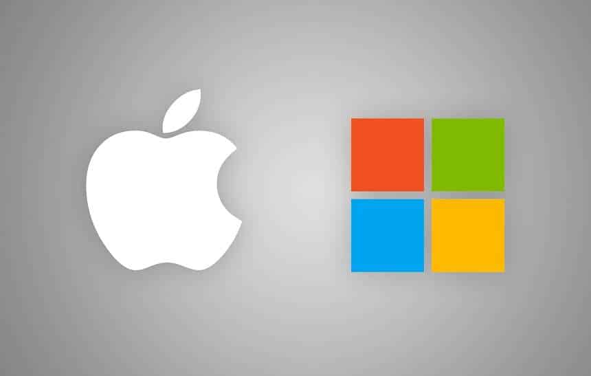 Apple e Microsoft duelam pelo futuro da tecnologia