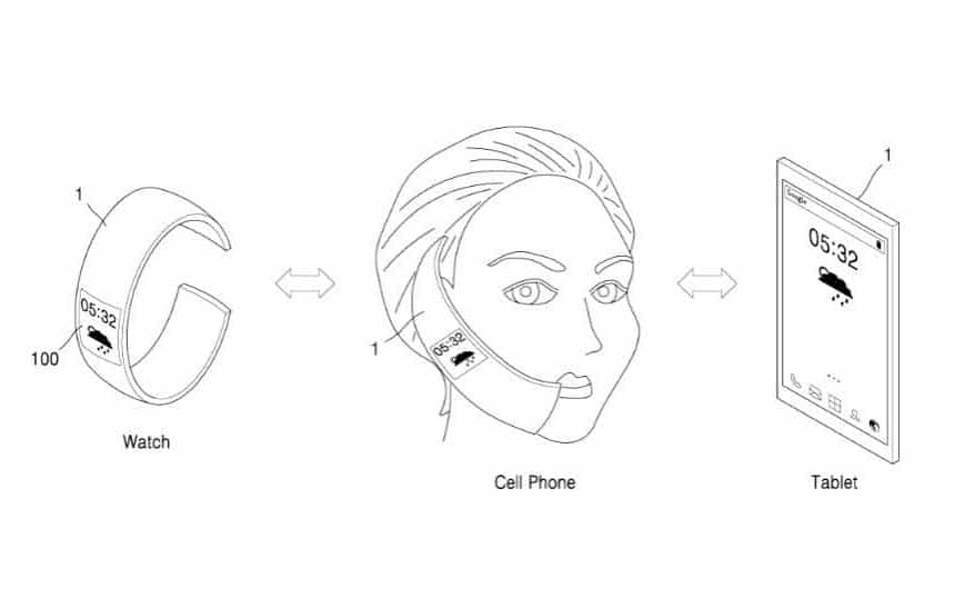 Dispositivo 3 em 1 com tela flex�vel pode ser a nova aposta da Samsung