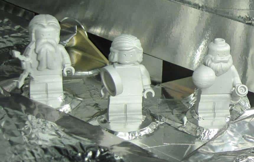 Sonda que viajou a Júpiter tem uma tripulação feita de Lego