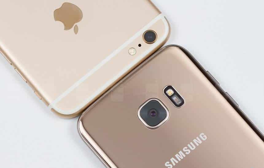 Galaxy S7 vende mais do que o iPhone 6 nos EUA