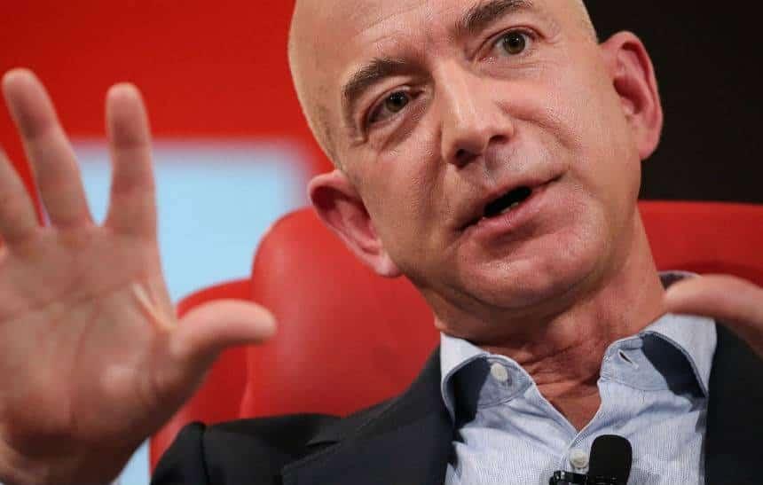 CEO da Amazon se torna a 3� pessoa mais rica do mundo