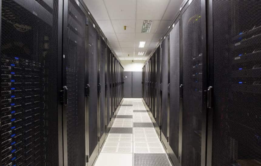 Veja como � um data center por dentro