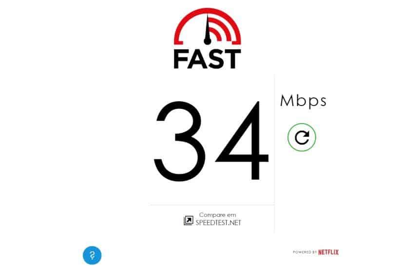 Como medir a velocidade da sua internet com a ferramenta da Netflix
