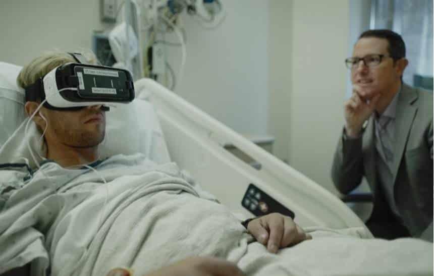 Hospitais usam realidade virtual em tratamento de pacientes