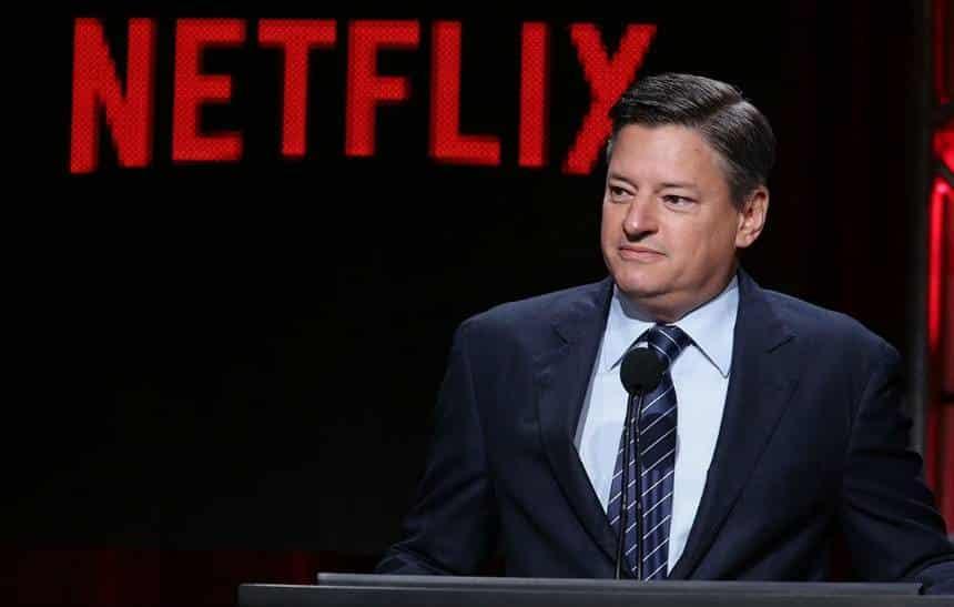 Ted Sarandos, chefe de conte�do da Netflix, ir� se juntar ao Spotify