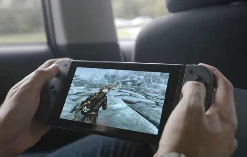 Nintendo encontra solução estranha para problema na bateria do Switch