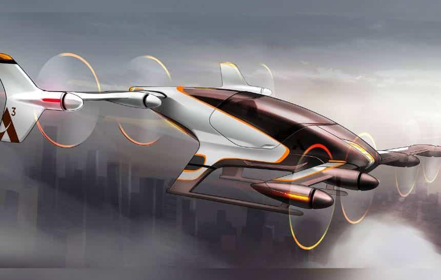 Veja como dever� ser o t�xi voador aut�nomo da Airbus