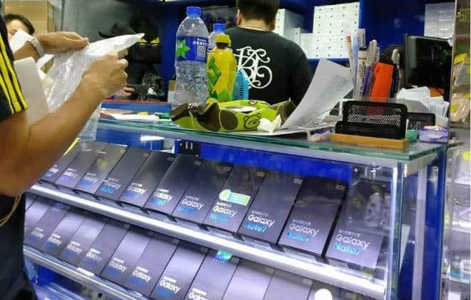Resultado de imagem para Samsung desmente parcialmente intenção de vender Galaxy Note 7 reciclado