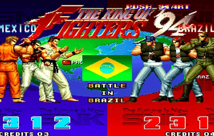 The King of Fighters 94 chega ao PS4