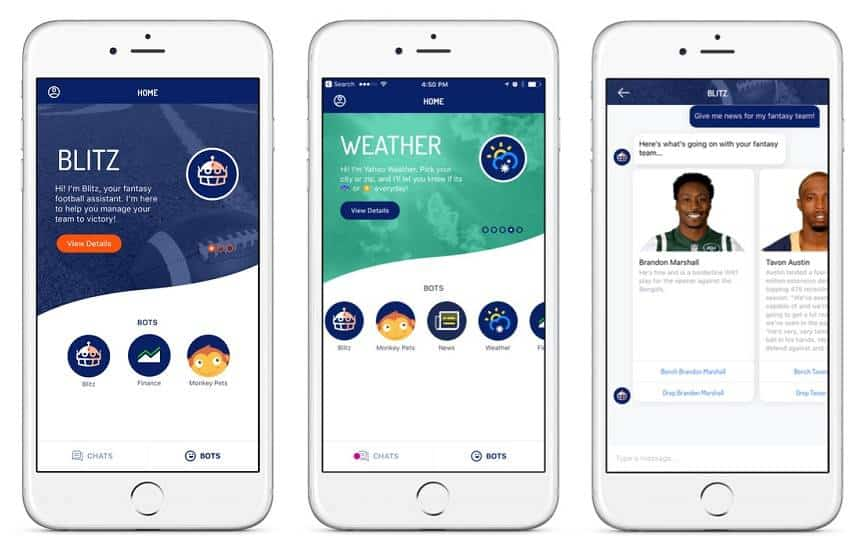 Yahoo lança app que reúne todos os bots da empresa