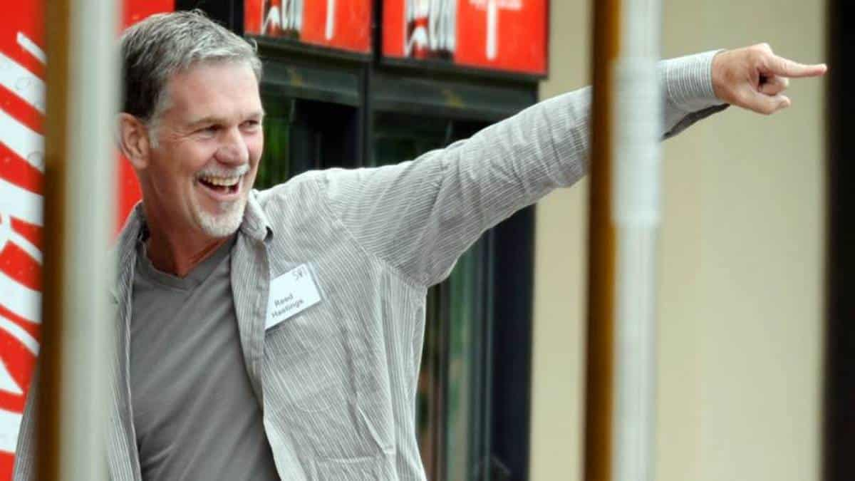 Reed Hastings, CEO da Netflix