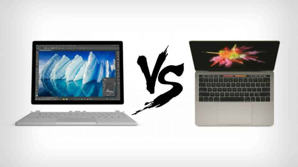 Surface Book vs MacBook