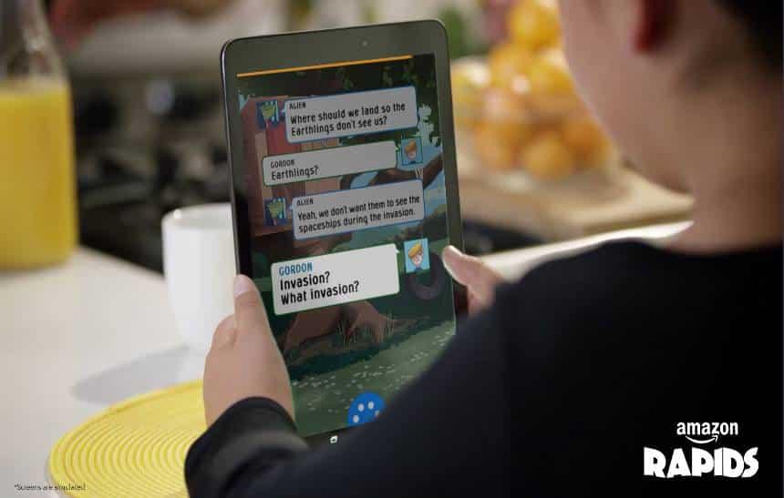 Amazon lança aplicativo de leitura para crianças