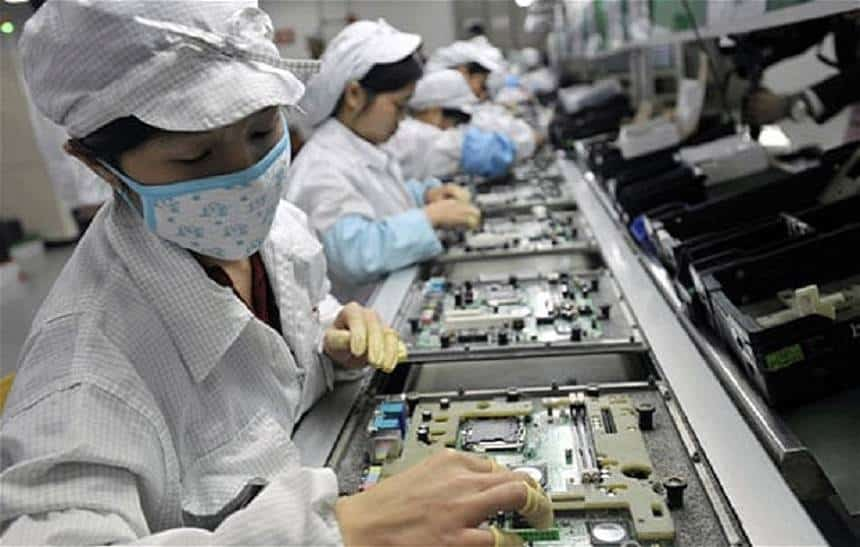 Foxconn interrompe horas-extras ilegais na produção do iPhone X