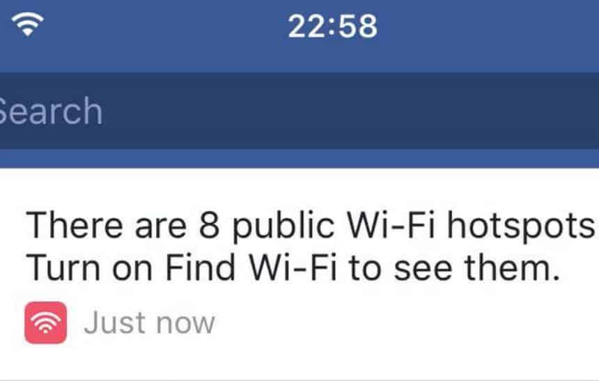 Como encontrar redes Wi-Fi próximas a você usando o Facebook