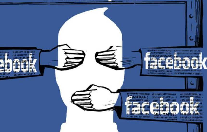 Como postar besteira no Facebook sem que sua família veja
