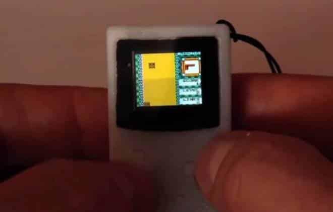 Este mini Game Boy é o chaveiro mais legal que você poderia ter